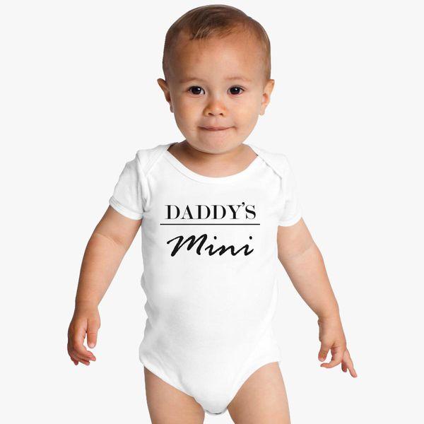 a2e7a47fb Daddy's mini Baby Onesies - Customon
