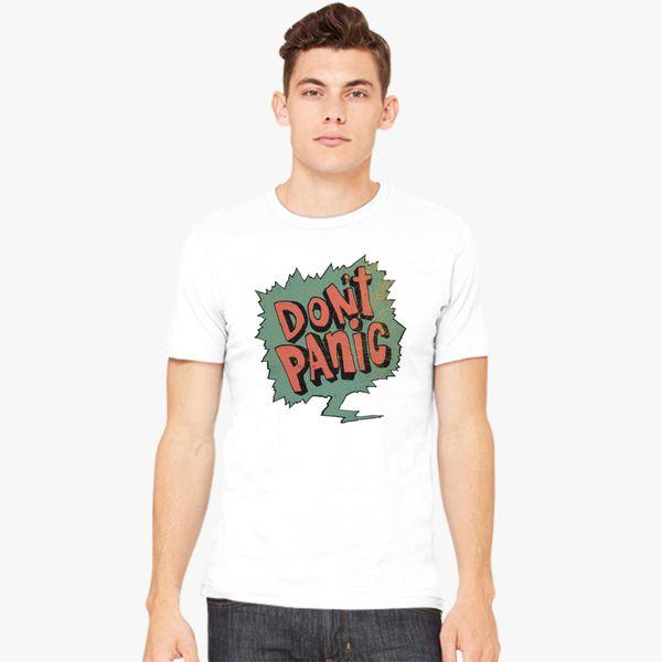 d47a449e don't panic Men's T-shirt - Customon