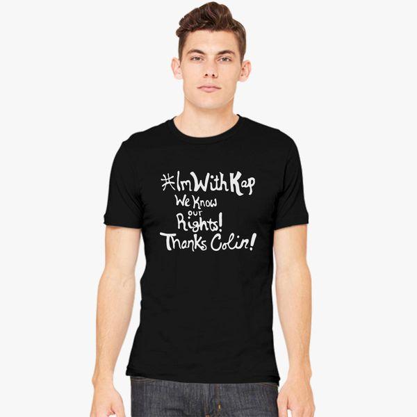 I am With Kap  IMWITHKAP Men s T-shirt  dc3cbff1e