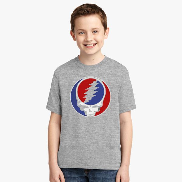 Grateful Dead Trucker Hat: Grateful Dead Vintage Logo Youth T-shirt