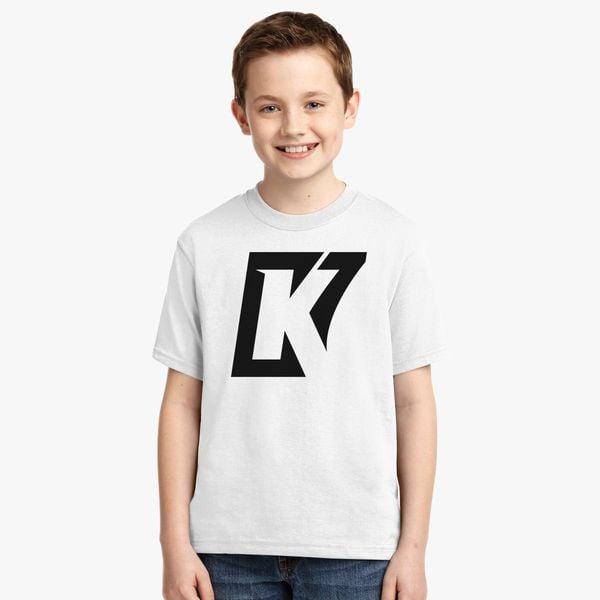 d43f5795 Colin Kaepernick Logo Youth T-shirt - Customon