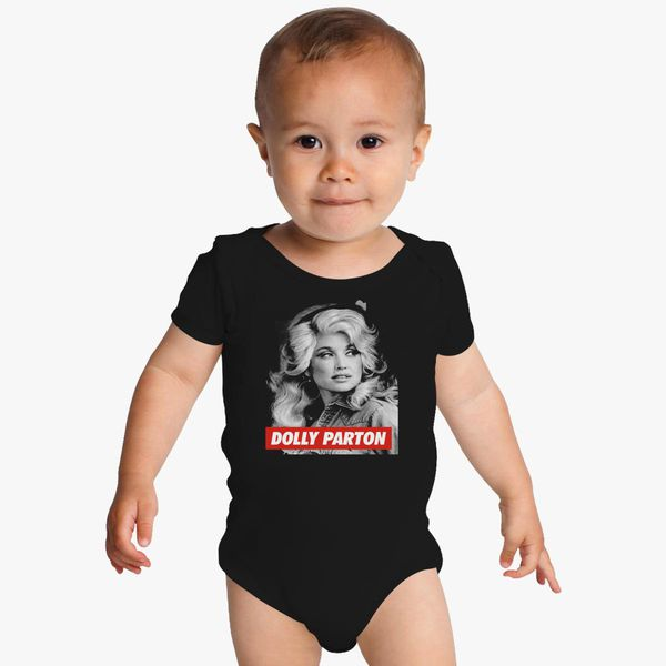 89e1dc6f4 DOLLY PARTON Baby Onesies - Customon
