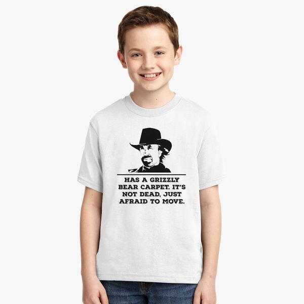 aa5ffec6d5 Tough Guy Chuck Norris Youth T-shirt - Customon