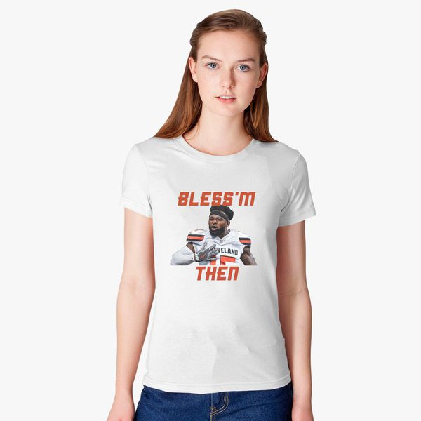 Jarvis Landry Bless m Then Quote Women s T-shirt +more d19ff94ed