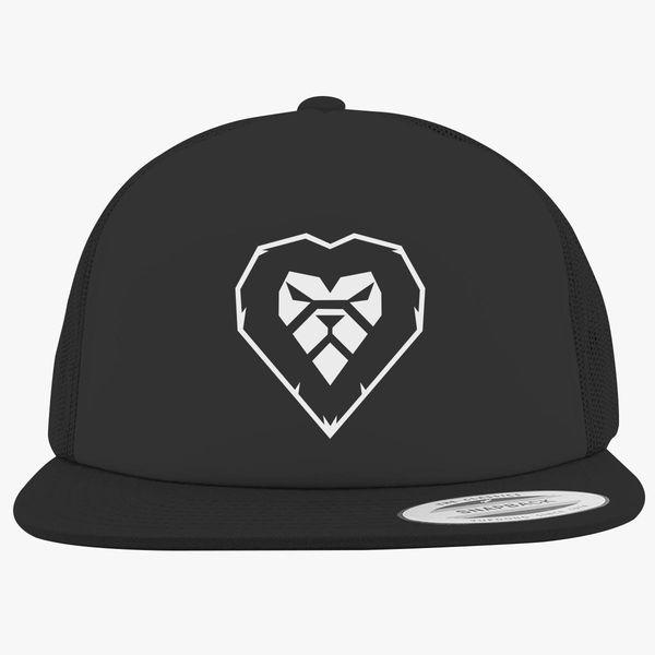 07018804 Ray Lewis Heart A Lion Foam Trucker Hat - Customon