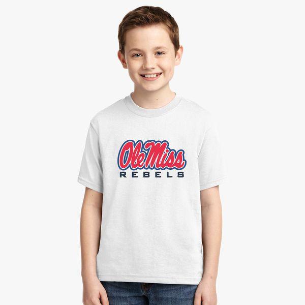 ecc74e8c Ole Miss Rebels Youth T-shirt - Customon