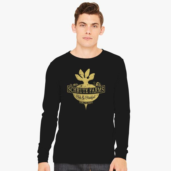 1bcf14278 Schrute Farms (Special Mose Edition!) Long Sleeve T-shirt - Customon