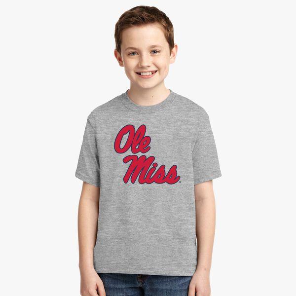 0c460cd7 Ole Miss Rebel Youth T-shirt - Customon