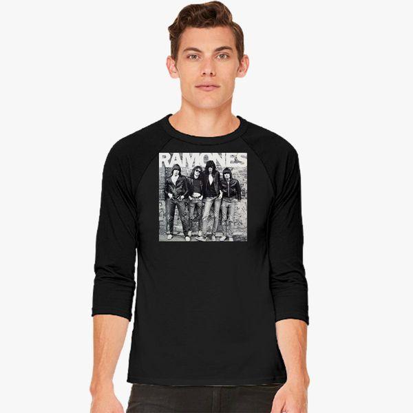 c6c26355f7dd RAMONES Baseball T-shirt - Customon