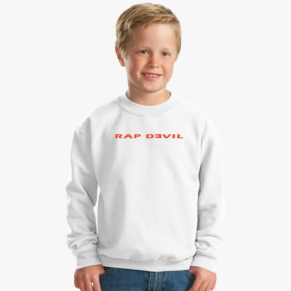 107a3985f Rap Devil Kids Sweatshirt - Customon
