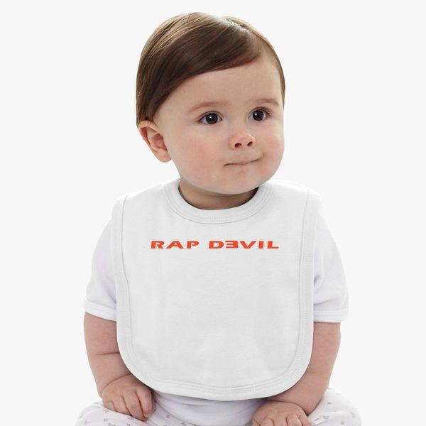 1c0f80133 Rap Devil Baby Bib - Customon