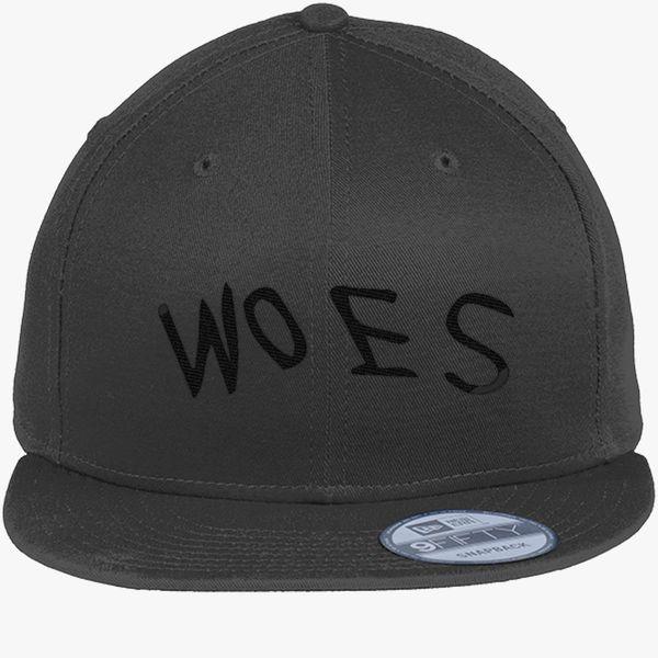 a0a2e2b7378 Woes New Era Snapback Cap (Embroidered) - Customon