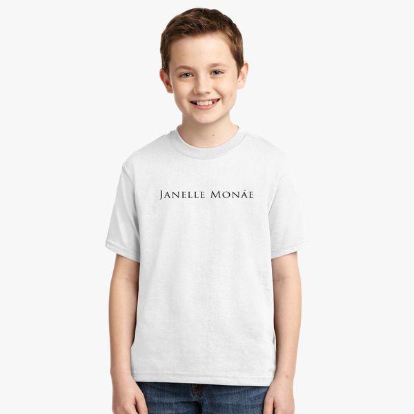 janelle monae Youth T shirt Customon