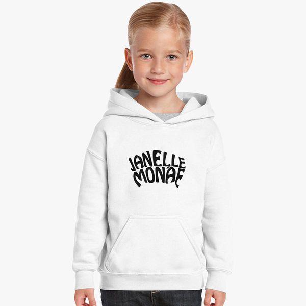 janelle monae Kids Hoodie Customon