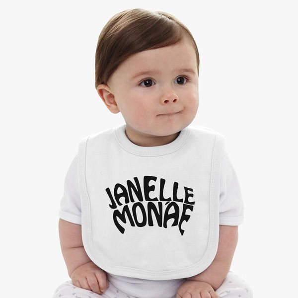 janelle monae Baby Bib Customon