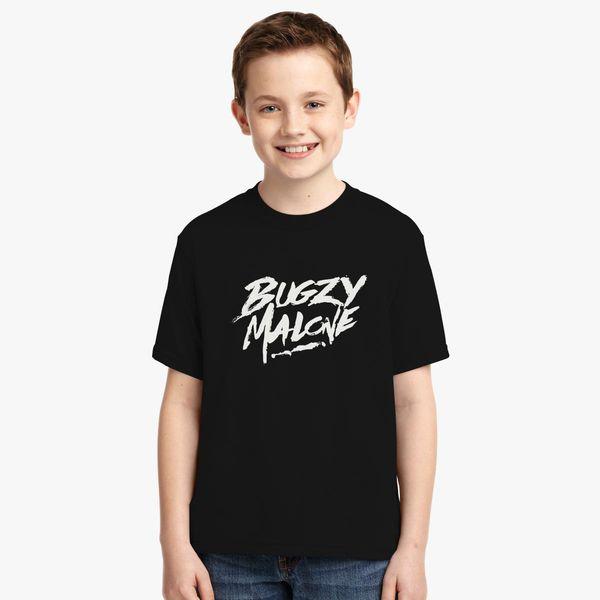 ddb73b2f85d10 bugzy malone logo Youth T-shirt - Customon