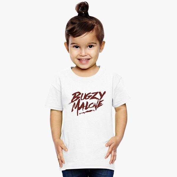 fd6ee892b6ab2 bugzy malone logo Toddler T-shirt - Customon