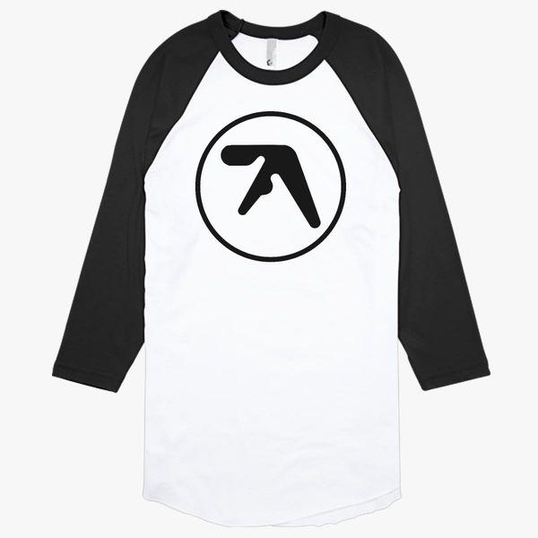 Aphex Twin Logo Baseball T-shirt - Customon