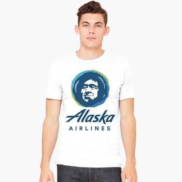 2a8f5ccbb6b Alaska Eskimo Airlines Men s T-shirt - Customon
