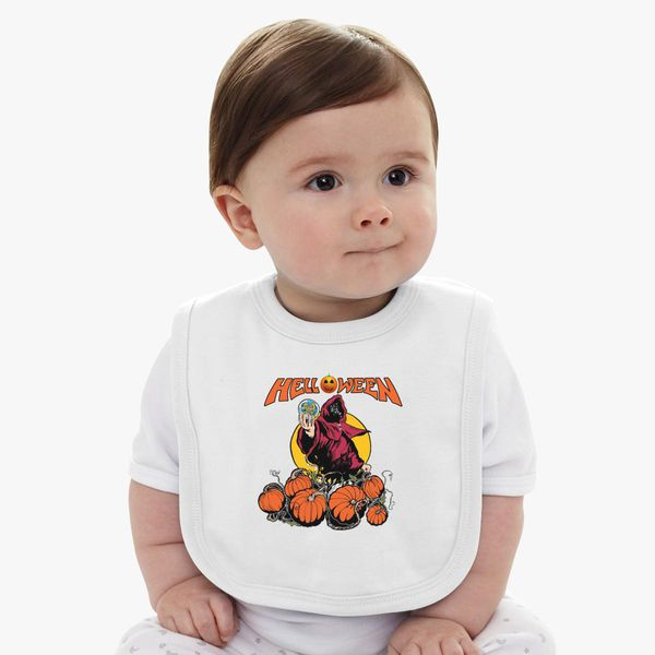 a8e4906d6d02 Pumpkins-HELLOWEEN Baby Bib - Customon
