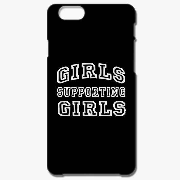 separation shoes 8c3d5 dbd88 girls supporting girls iPhone 6/6S Plus Case - Customon