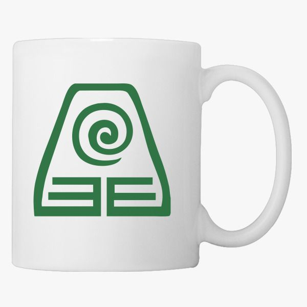 Avatar Earth Kingdom Logo Coffee Mug Customon