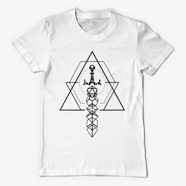 dice sword Men's T-shirt - Customon