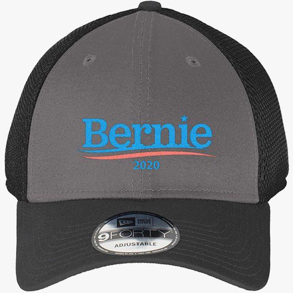 b783eda7ec28e Bernie Sanders 2020 New Era Baseball Mesh Cap (Embroidered ...
