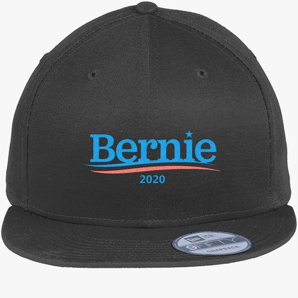 d78d0b11878cf Bernie Sanders 2020 New Era Snapback Cap (Embroidered ...