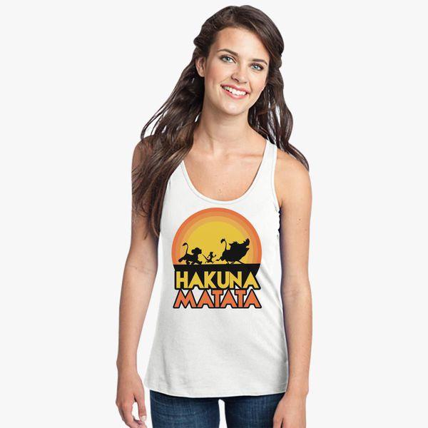 968f233d21675 Hakuna Matata Women s Racerback Tank Top - Customon
