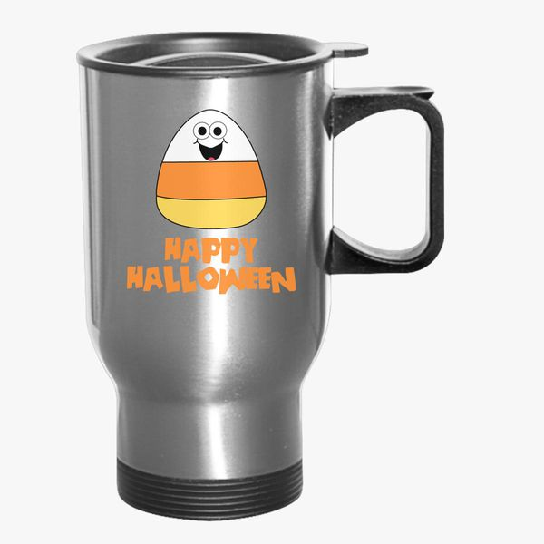 7fa2eff1349f Candy Corn Halloween Travel Mug - Customon