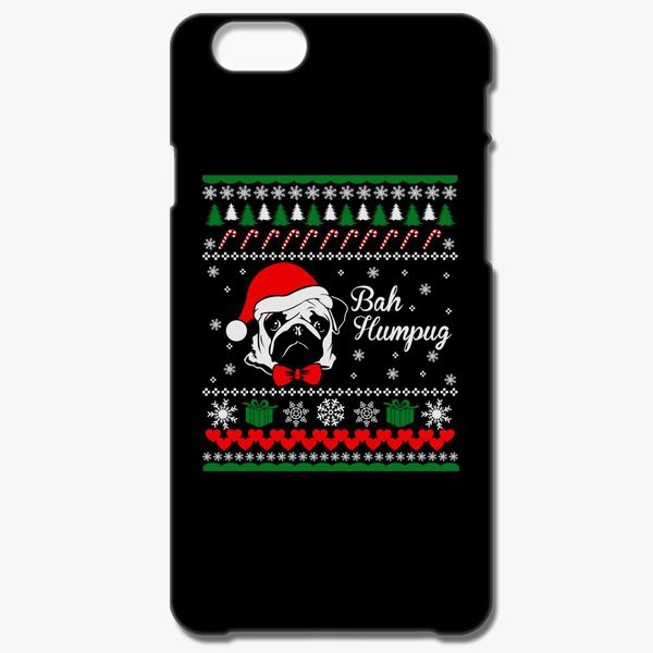 e8e4d28c13041 Ugly Christmas Sweater Bah Humpug iPhone 6 6S Plus Case ...