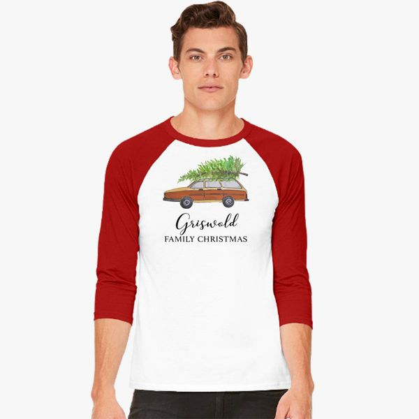 700f65626019b Christmas vacation Griswold family Christmas Baseball T-shirt ...