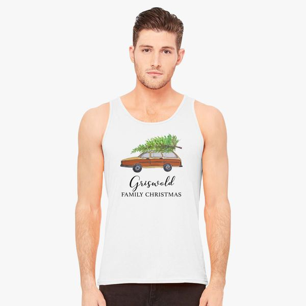 Model In Christmas Vacation.Christmas Vacation Griswold Family Christmas Men S Tank Top Customon