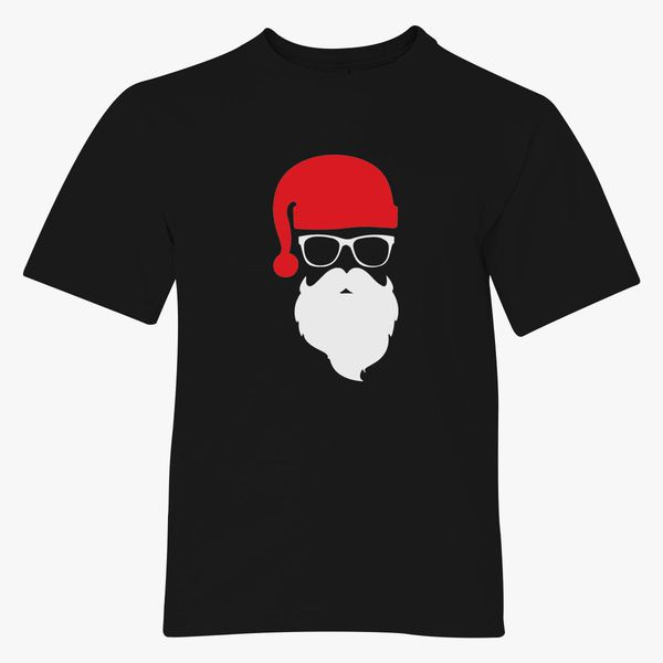 Clancey Printing Santa Rules Christmas Youth Shirt