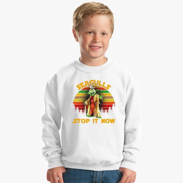 5cd5ce07 Seagulls Stop It Now Retro Original Kids Sweatshirt - Customon