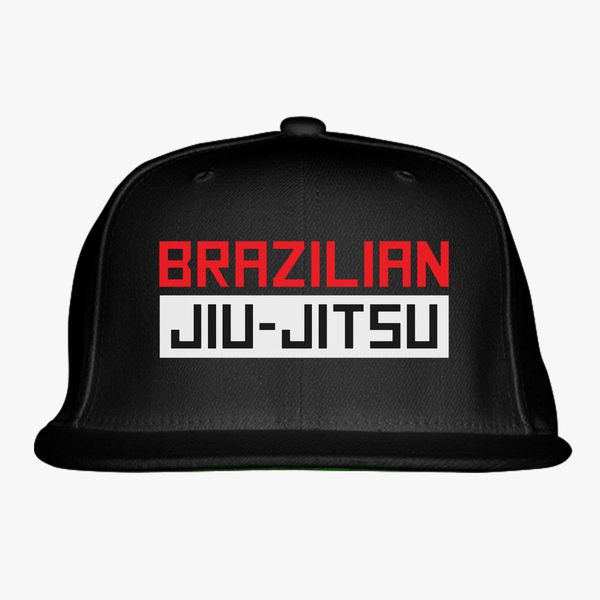 big sale 8e52f 73ab5 brazilian jiu jitsu Snapback Hat