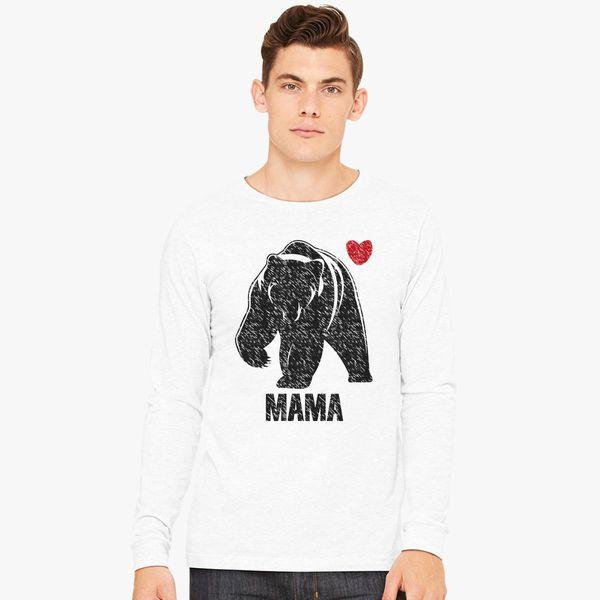 a634ed30 mama bear Long Sleeve T-shirt - Customon