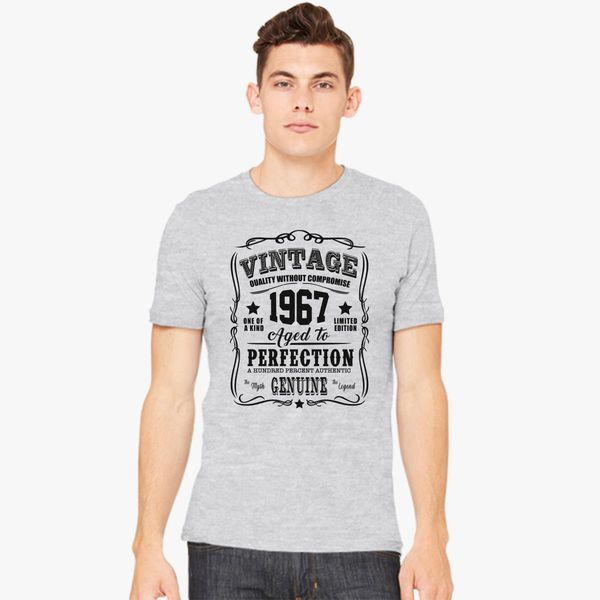 68a460be6 Vintage Limited 1967 Edition - 50th Birthday Gift Men's T-shirt ...