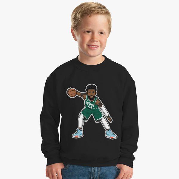 306bff5bfbef Kyrie Irving cartoon style by rayd3rd Kids Sweatshirt - Customon