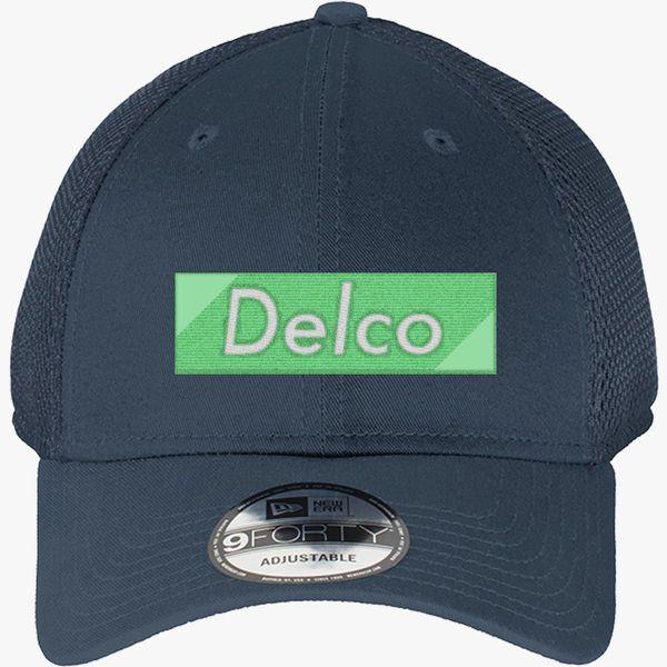 f65894ed58e Delco Premium New Era Baseball Mesh Cap - Embroidery +more