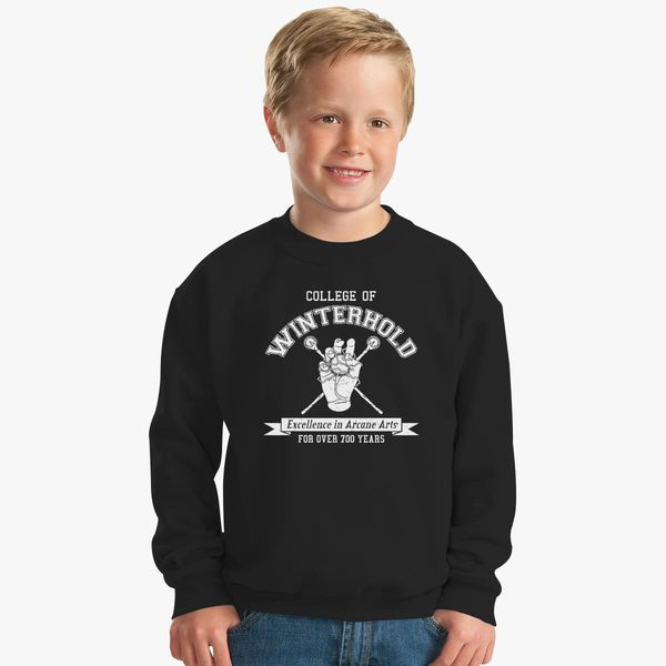 Skyrim - College of Winterhold Kids Sweatshirt - Customon