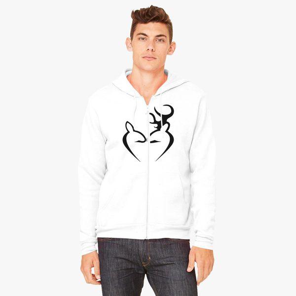 Buy Deer Love Unisex Zip-Up Hoodie, 277231