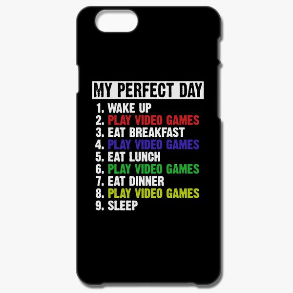 promo code 8a764 274ab My Perfect Day Video Games-Retro Vintage iPhone 8 Plus Case - Customon