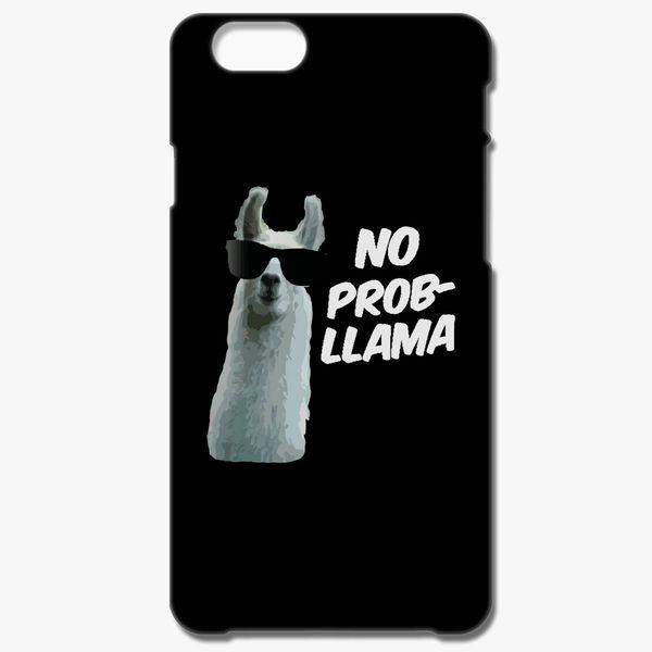 5e290bc35c6 No Prob Llama Funny iPhone 6 6S Case - Customon