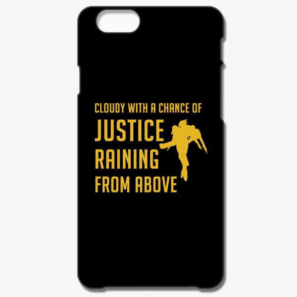 new concept a7a62 64832 Cloudy with a Chance of Justice iPhone 6/6S Case - Customon