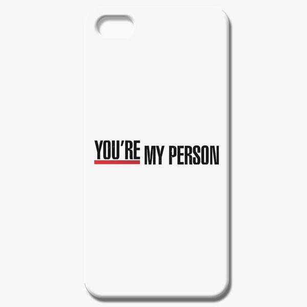 Grey's Anatomy - You're My Person iPhone 8 Case - Customon