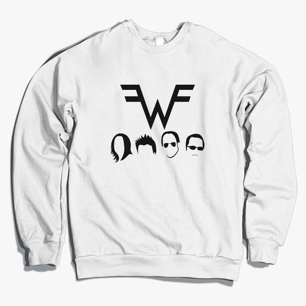 Weezer Christmas Sweater.Weezer Crewneck Sweatshirt Customon