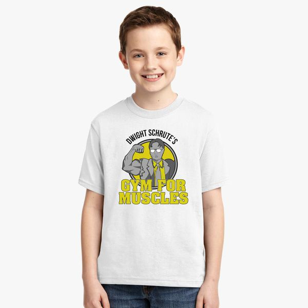 0dbe5b8a Dwight Schrutes Gym Youth T-shirt - Customon