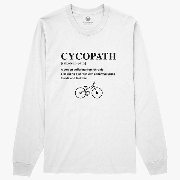 a99b9feba Cycopath Noun Logo Long Sleeve T-shirt - Customon